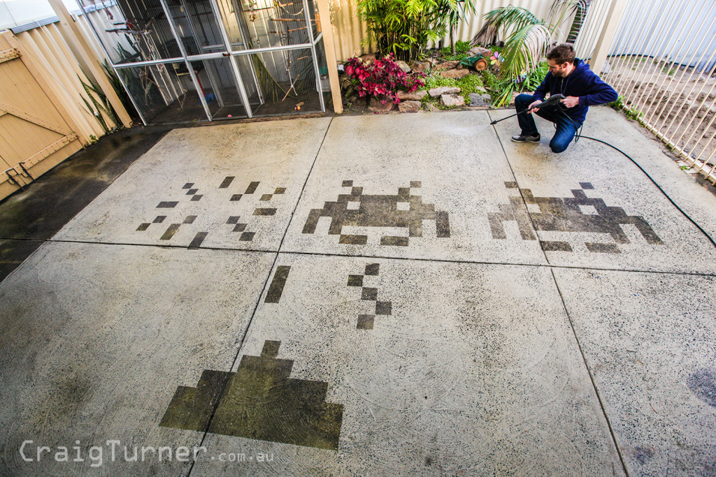 Pavement Space Invaders 2-Craig Turner-Turnah81