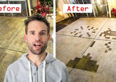 Life Hacks Cleaning Space Invaders- Craig Turner - Turnah81