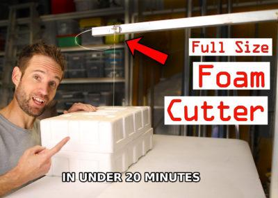 DIY Foam Cutting Table
